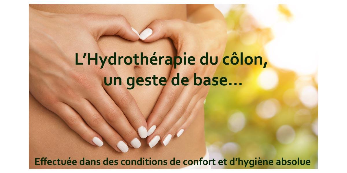 hydrothérapie du côlon Toulon, irrigation du côlon